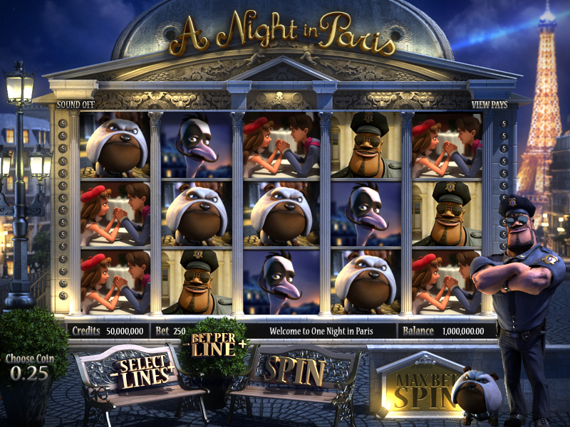 a night in paris slots review