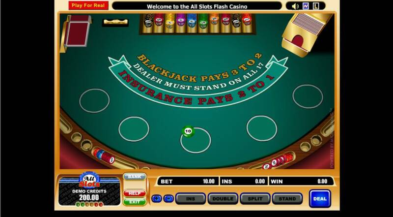 free casino blackjack game